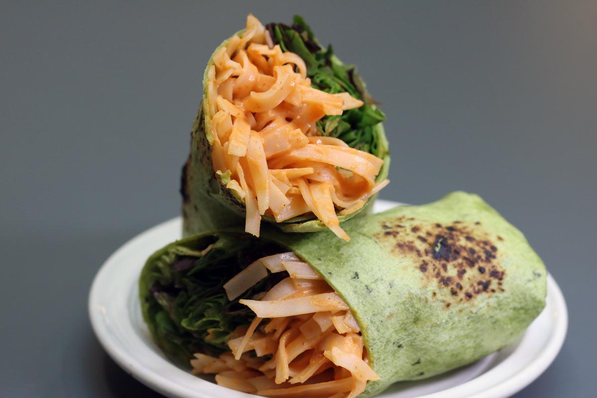 Vegan Korean Wrap