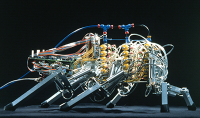 A bio-inspired hexapod robot modeled after the American cockroach