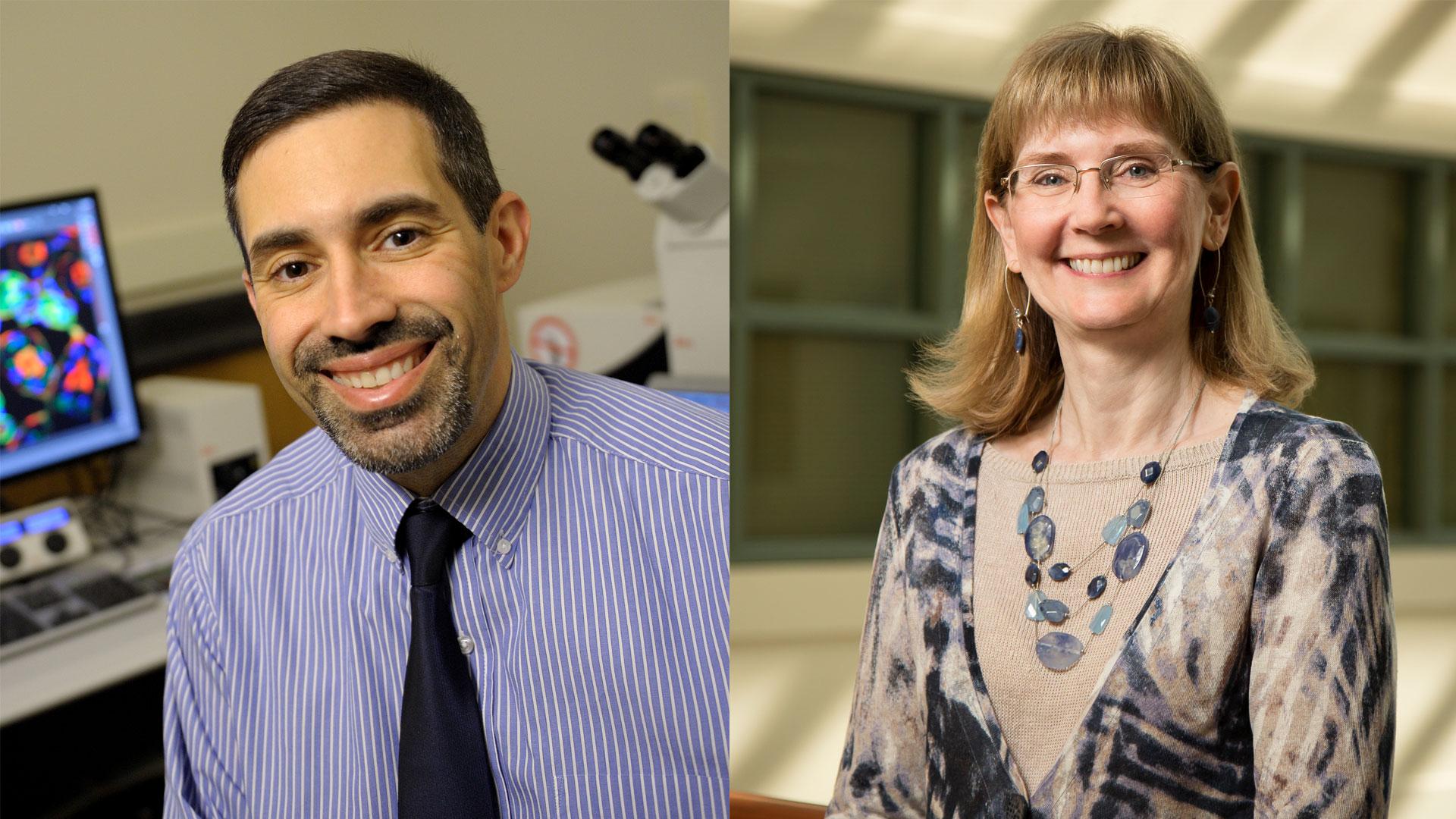 Dan Llano and Susan Schantz side-by-side