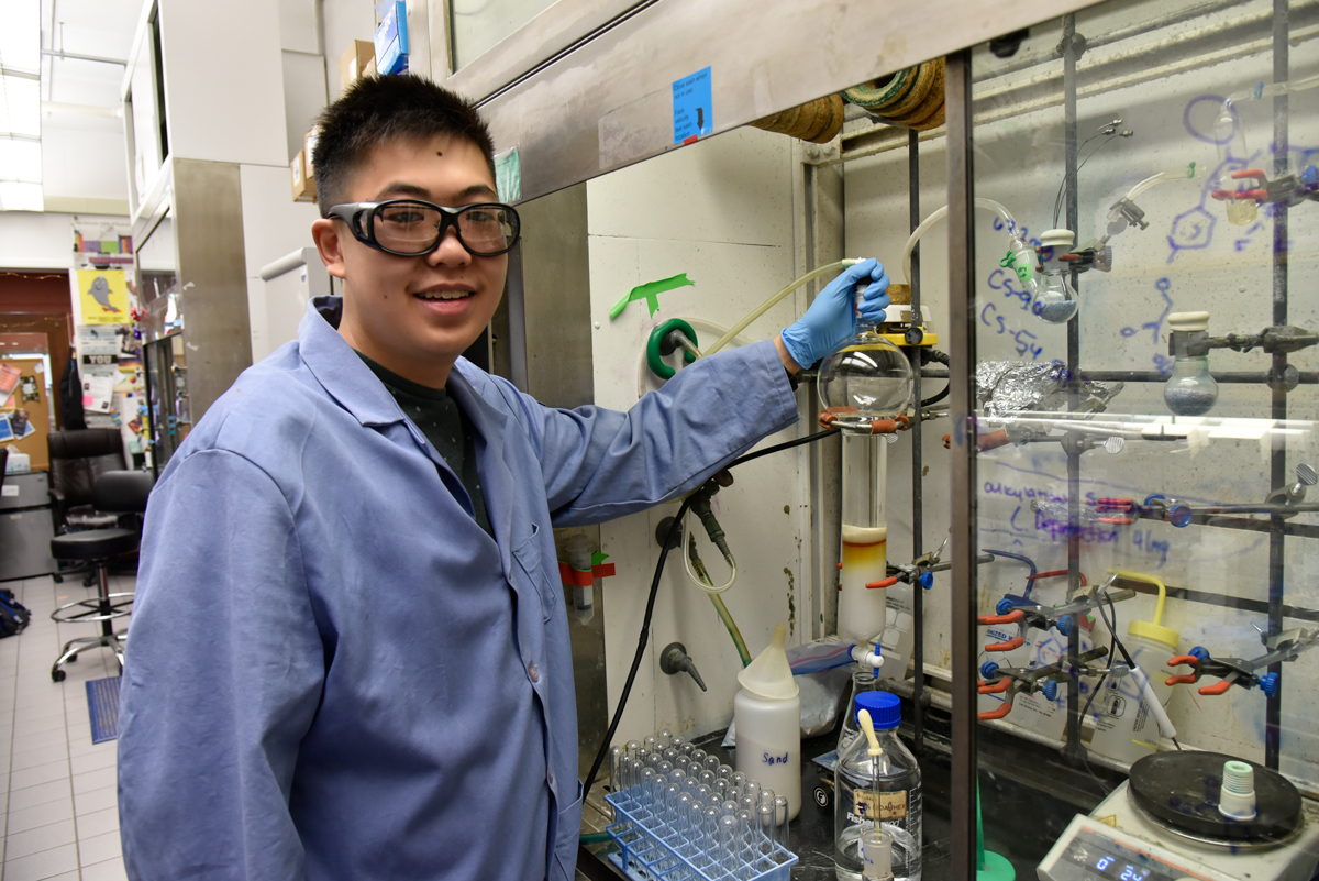 Student does collaborative research with the Beckman Institute.
